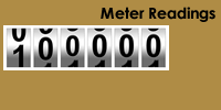 Enter copier meter readings